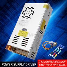 AC220V-DC 0-5/12/24/48/60/120V Driver Power Supply Transformer Driver Adapter  Y