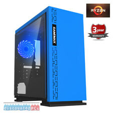RYZEN 5 2400G Quad Core 16GB  VEGA 11 Graphics Desktop Gaming PC y12