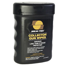 Break-Free COLLECTOR GUN WIPES • PROTECTION for Guns Knives Swords Collectables