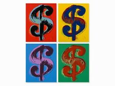 Dollar Sign Suite Sunday B. Morning, Limited Edition Silkscreens, Andy Warhol