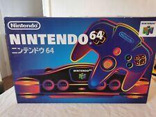 Nintendo n64-Boxed Konsole Japan Import NTSC-J
