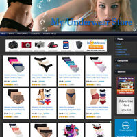 GIRL'S PANTIES STORE, Fully Automated Online Affiliate Business Website For Sale