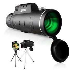 Monocular Starscope Phone Camera Zoom Lense+Tripod Bag Phone Mount Telescope
