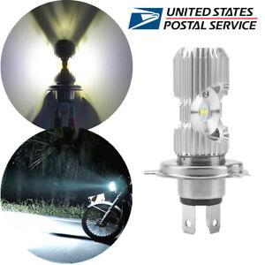 1 Pcs H4 Dual-Side LED White Headlight Hi /Lo Beam 10W+10W Good Heat Dissipation