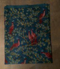 Lovely Dutch Jarva Print Cotton Fabric - ? Peacock Birds in Tree