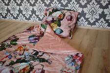 ESSENZA ropa de cama Fleur Rosa 2 piezas 135x200cm+ 80x80cm ROSA