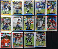 2006 Topps San Diego Chargers Team Set of 14 Football Cards