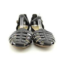 Sandalias y chanclas de mujer planos negros talla 38