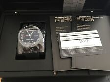 PORSCHE Design p'6750 Worldtimer, titanio, merce nuova con scatola e documenti UVP 11740 €