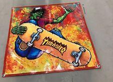 Skateboard complete zombie poster walking hat riper banner deck thrasher cap set