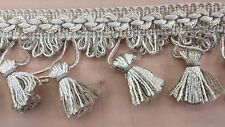 "17 1/2 yards of CONSO 2 1/4"" Tassel Fringe trim drapery upholstery craft"