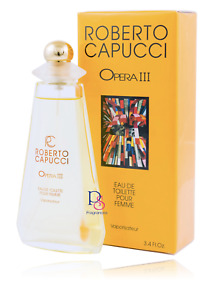 ROBERTO CAPUCCI OPERA III Pour Femme by Roberto Capucci 100ml EDT BNIB