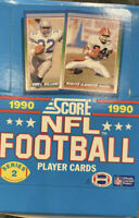 1990 SCORE NFL Football Box of Cards Series 2, 36 Packs Factory Sealed