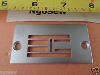 NEEDLE PLATE #541936 for SINGER 20U ZIG ZAG Industrial Sewing MACHINE