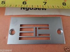 SINGER 20U ZIG ZAG Industrial Sewing MACHINE NEEDLE PLATE #541936