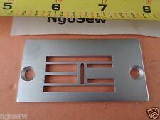 SINGER 20U ZIG ZAG Industrial Sewing MACHINE NEEDLE PLATE #541936