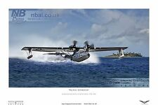 PBY5-A Catalina WWII digital art print