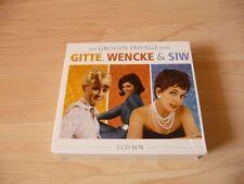 3 CD Box Die Grossen Erfolge von Gitte Haenning, Wencke Myhre & Siw Malmkvist