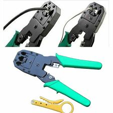 pinza crimpatrice per plug RJ11 RJ12 RJ45 a crimpare connettori cavo rete LAN