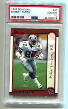 1999 Bowman Emmitt Smith #40 PSA 10 Gem Mint (CBF074)