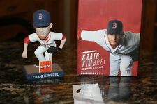Boston Red Sox Craig Kimbrel Bobblehead & Game Ticket SGA 2017 Fenway Park