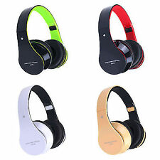 Bluetooth Wireless Foldable Stereo Headset Handsfree Headphones Mic for iPhone