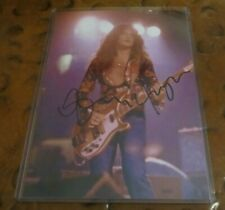 Glenn Hughes bassist singer signed autographed photo Deep Purple Black Sabbath
