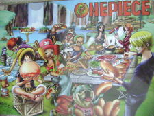 ONE PIECE ANIME MANGA PROMO CLEAR FILE WITH POSTER  1