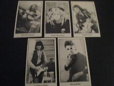 """Paul McCartney and Wings """"Back to the Egg"""" 5 card set"""