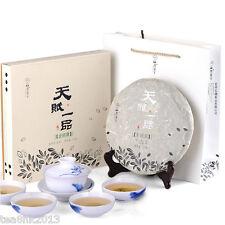 357g cake Yunnan raw puer tea puerh tea green tea TianFu LaoBanZhang Year 2012