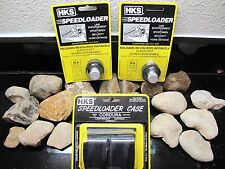 3Pack! Hks Speedloader Hks Magnum 10-A Fits .38 Special .357 Mag With Pouch