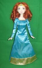 Brave Merida doll w/ original dress & shoes-Red Hair-Disney Princess
