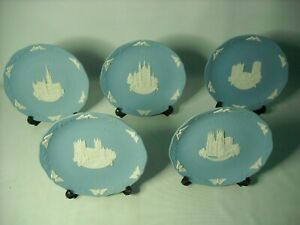 Choose ONE OR MORE Wedgwood CATHEDERAL CHRISTMAS Jasper Ware Plates 1986 to 1990