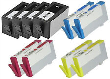 10X HP 920XL Ink Cart.(4B+2C+2Y+2M) W/Chip FOR HP Officejet 6000,6500,7000,7500A