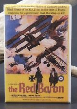 The Red Baron Movie Poster - Fridge / Locker Magnet. Roger Corman
