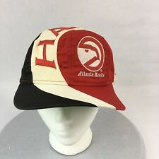 Atlanta Hawks Spell Out Baseball Cap Embroidered Snap Back NBA One Size Fits Mos