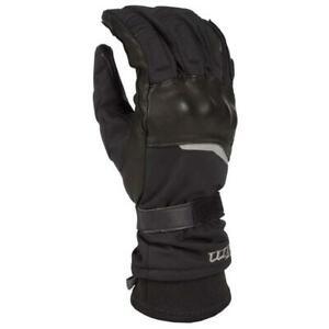 Klim Vanguard Gore-Tex Long Black Motorcycle Gloves, Free Shipping, New!