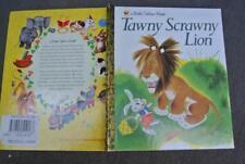 Little Golden Book: Tawny Scrawny Lion 2005 HARDCOVER. 1ST EDITION RANDOM HOUSE