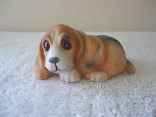 "Vintage Homco # 1407 Basset Hound Puppy "" BEAUTIFUL COLLECTIBLE ITEM """