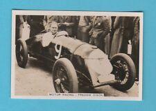 MOTOR RACING  -  PATTREIOUEX  - MOTOR RACING CARD  NO. 67 - FREDDIE DIXON - 1935