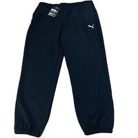 Puma Dry Cell Sweatpants Womens Size Medium New NWT Black Jogger D221