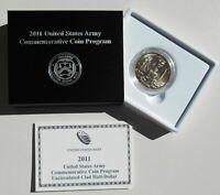 2011D US Army Commemorative Uncirculated UNC Half Dollar OGP