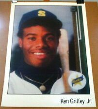 Ken Griffey 1989 Upper Deck Rookie Card Very Rare Vintage Baseball Card Poster