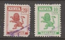Uk Gb Cinderella local stamp 4-12- Kenya as seen used