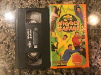 The Wiggles Wiggly Safari Vhs!