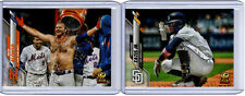 2020 TOPPS 2 CARD LOT PETE ALONSO AND FERNANDO TATIS JR. BOTH ARE VARIATIONS
