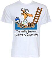 Painter And Decorator T-shirts Mens Funny Cool Novelty Joke Handyman Gifts Ideas