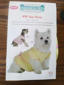 Fashion Pet Signature Collection #10 Sundress Extra Small. Yellow June
