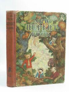 The New Rupert Book- 1938 RUPERT ANNUAL ( Original and not the Facsimile )