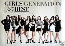 "GIRLS' GENERATION ""THE BEST"" THAILAND PROMO POSTER -Group Posing In Short Skirts"